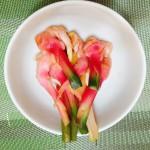 谷中生姜の梅酢漬け、 個人的にはこれが大好き!!