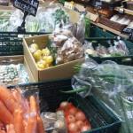 有機野菜いっぱい