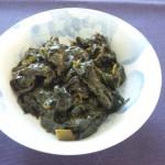 葉トウガラシのつくだ煮、ご飯のお供のサイコー!!「日本人でよかったなぁ」